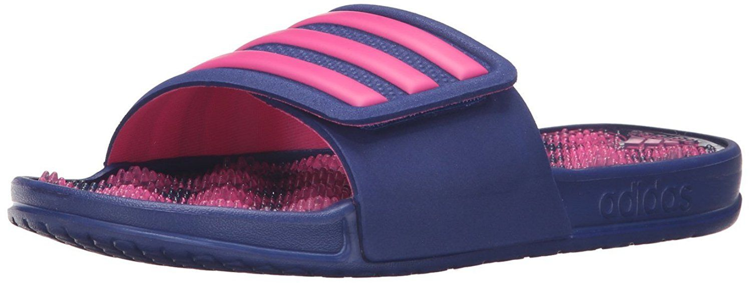 ccd030e8d05e22 adidas Performance Women s Adissage 2.0 Stripes W Athletic Sandal      Unbelievable item right here!   Adidas sandals