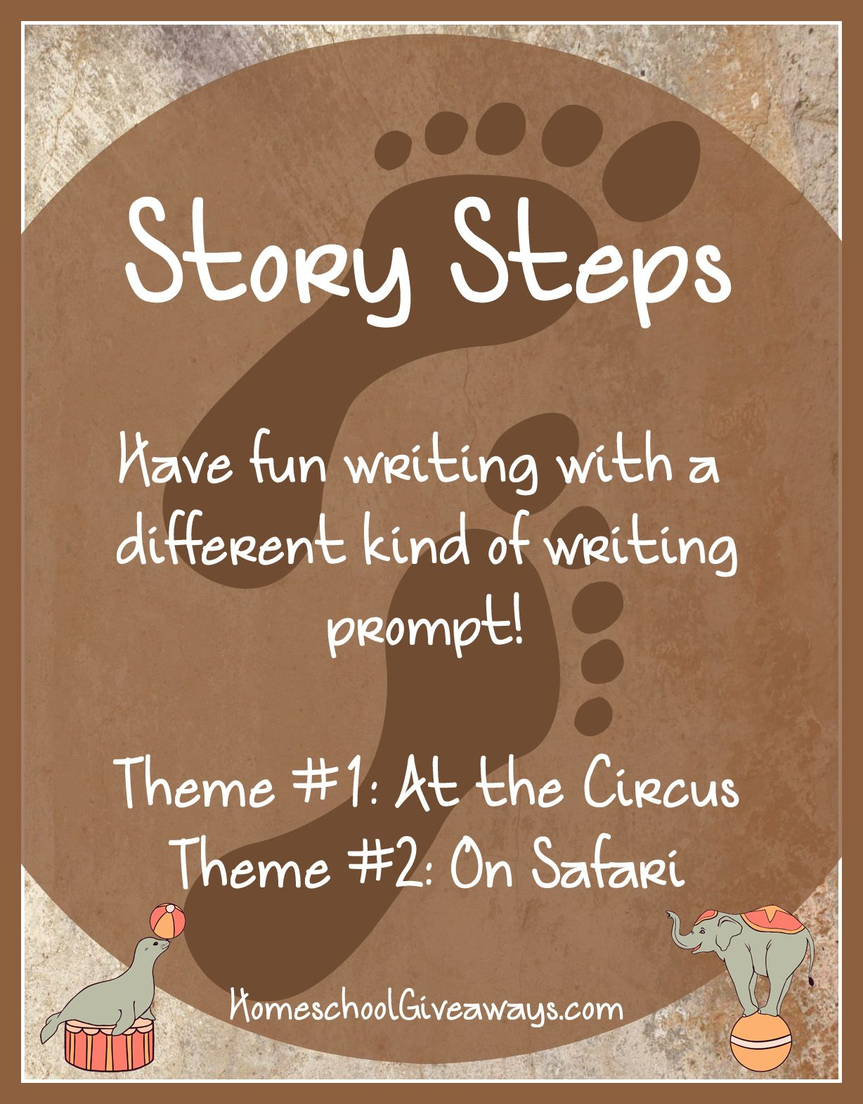 Free Writing Prompts Story Steps At The Circus And On