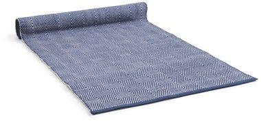 blå matta