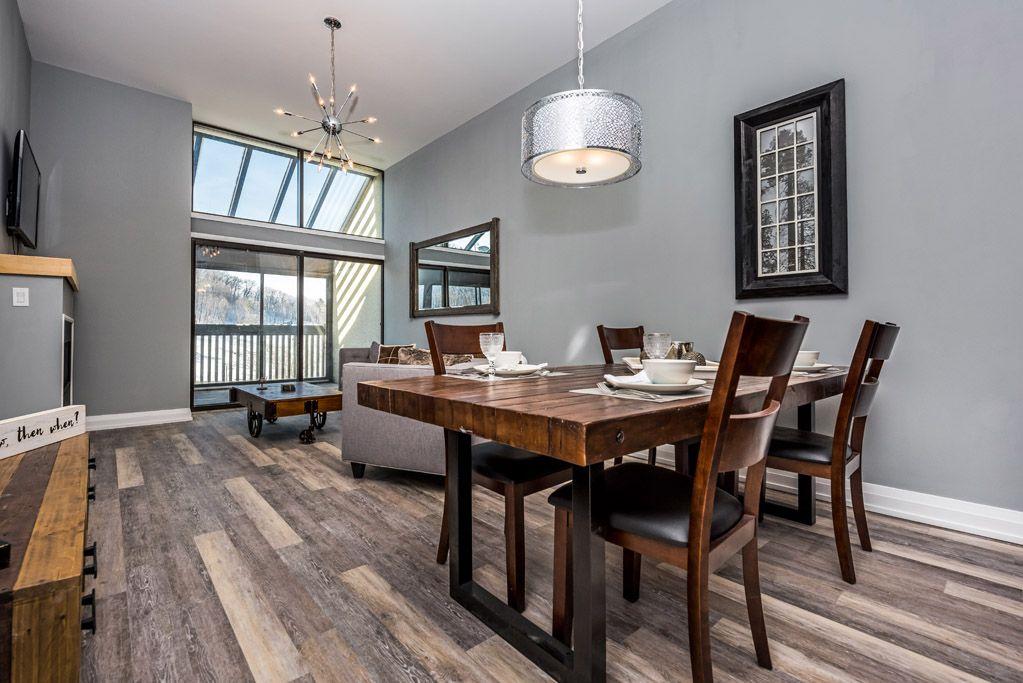 Ordinaire Condo Dining Room / Slopeside At Horseshoe Valley Resort
