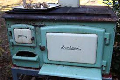 Canberra Metters Slow Combustion Wood Stove Old Wares