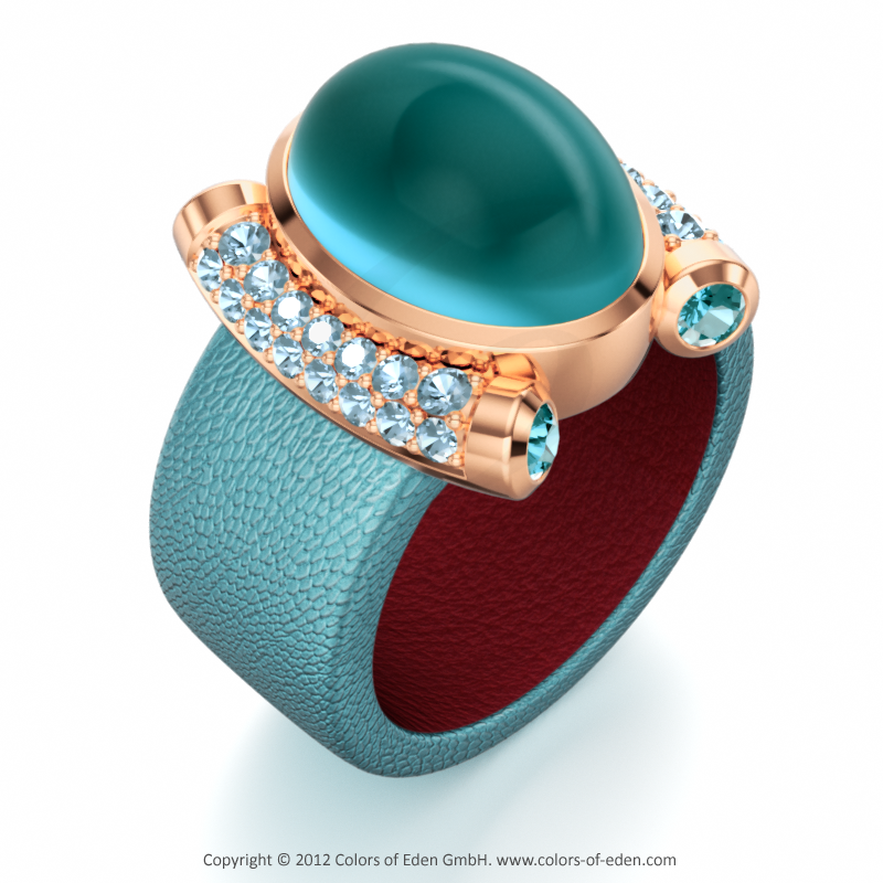 Premiere Leather Ring