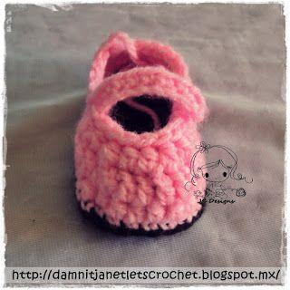 damn it Janet, let's crochet!: Baby Owl Booties