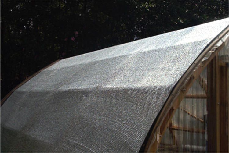 Aluminet Shade Cloth By Gothic Arch Greenhouses Shade Cloth