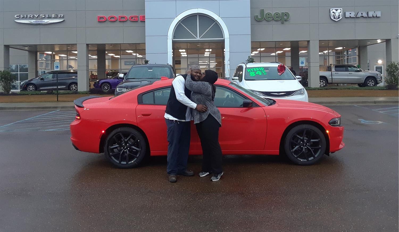 Desiree And Nicholus We Hope You Enjoy Your New 2019 Dodge