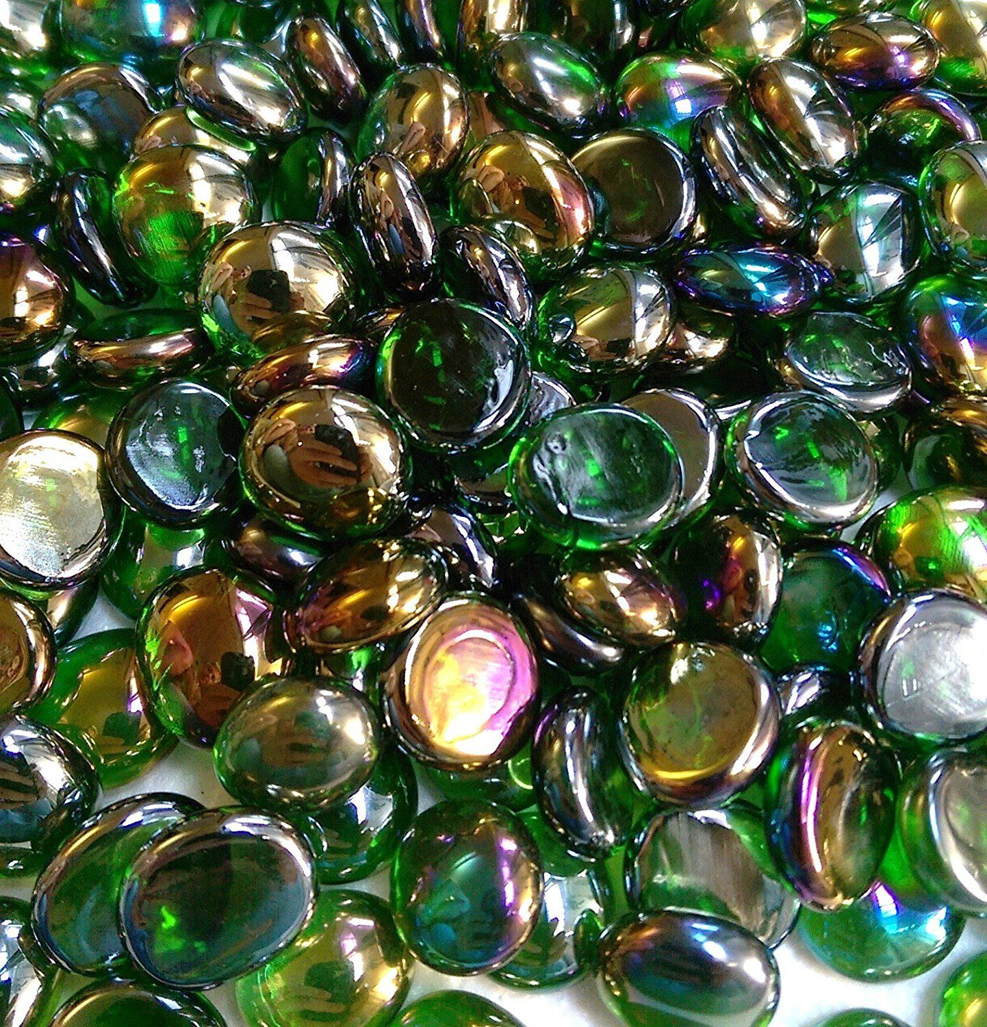 Miracolors 4 lb green irid glass gems vase fillers 14 17mm glass gems vase fillers 14 17mm approx 58 you can get more details by clicking on the image this is an affiliate link and reviewsmspy