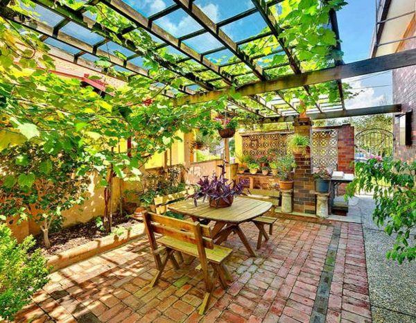 Moderne Gartengestaltung u2013 100 erstaunliche Gartenideen - laub - gartenideen