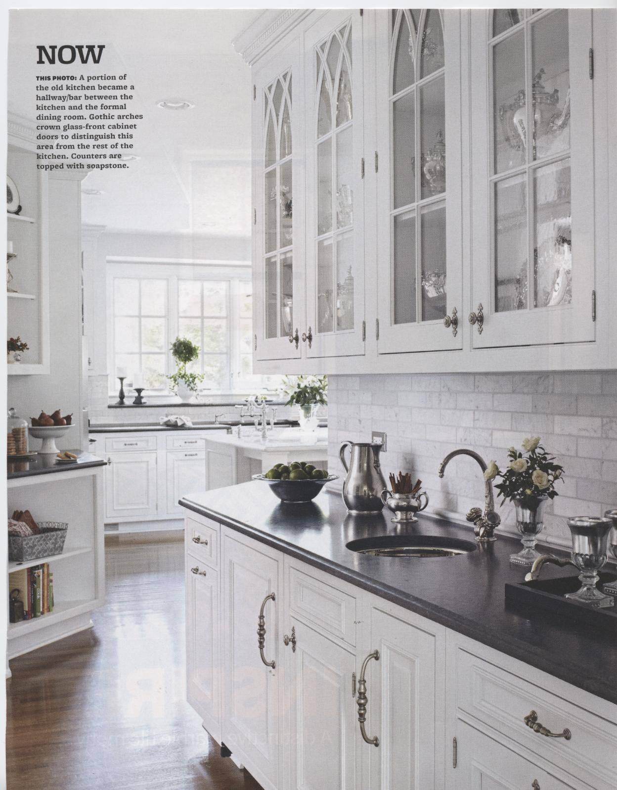 As seen in BHG Kitchen & Bath Ideas/Spring Herbeau Pompadour ...
