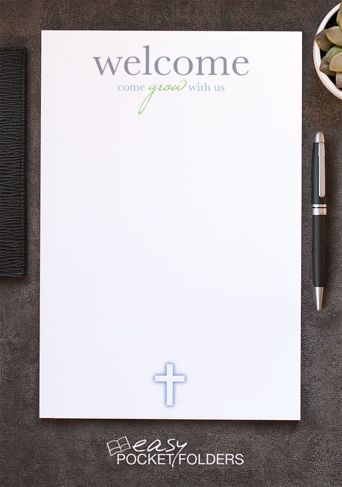 Free Letterhead For Church Welcome Letters All