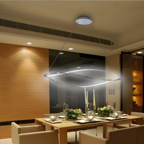 Lu-Mi® LED Pendelleuchte Höhenverstellbar Küchen Deckenleuchte ...