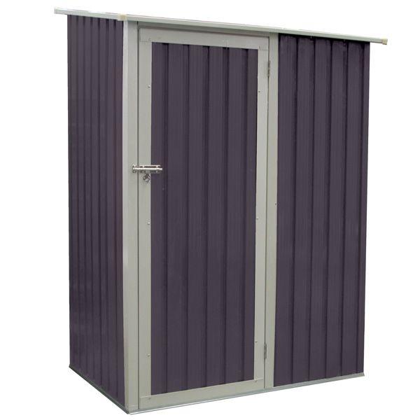Abri de jardin en métal Joy 1.3 m² gris