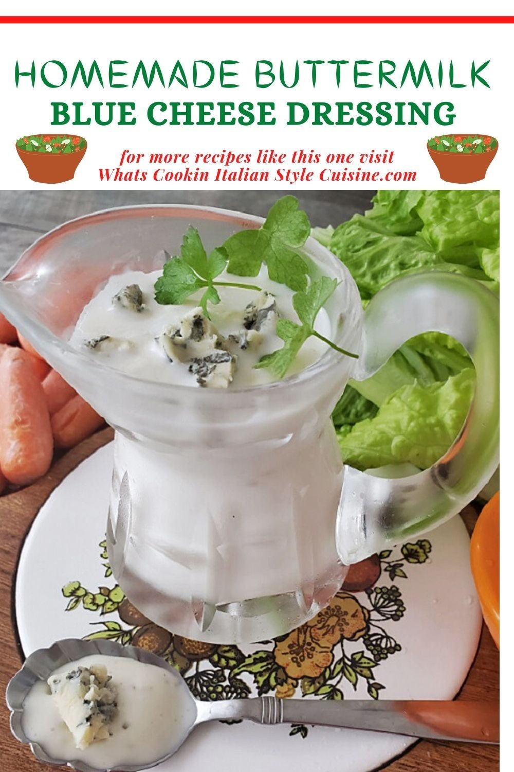 Homemade Buttermilk Blue Cheese Dressing Recipe In 2020 Condiment Recipes Homemade Buttermilk Buttermilk Blue Cheese Dressing