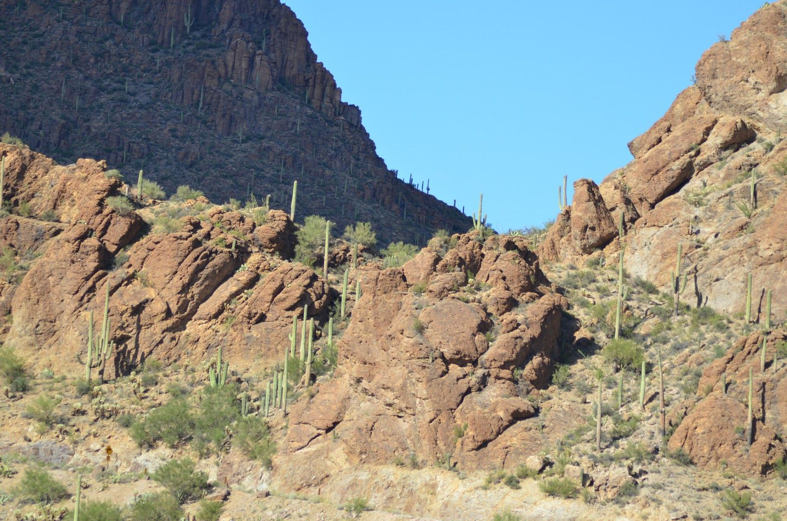 One of my favorite spots in the Tucson Mountains, Gates Pass road, which I used to take home from work.