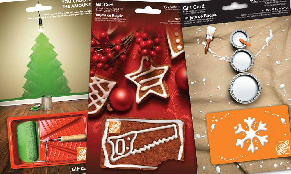 The Home Depot Gift Card | Credit card | Pinterest