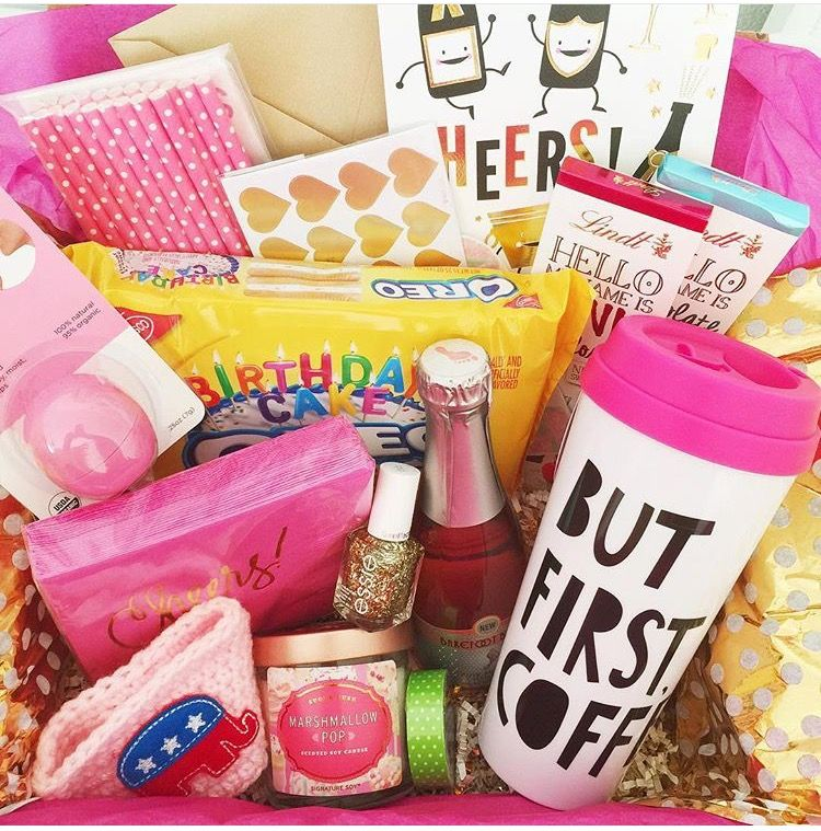 Birthday Basket Gifts Pinterest Birthdays Gift And