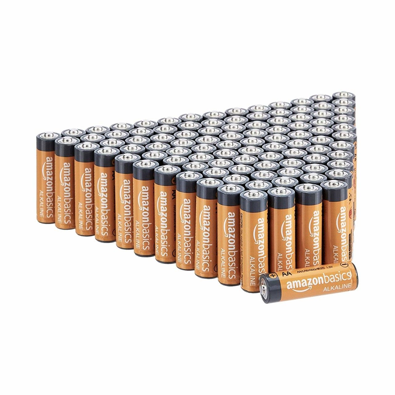 Amazonbasics Aa Performance Alkaline Batteries 100 Count Only 20 39 Become A Coupon Queen Alkaline Battery Rechargeable Batteries Batteries