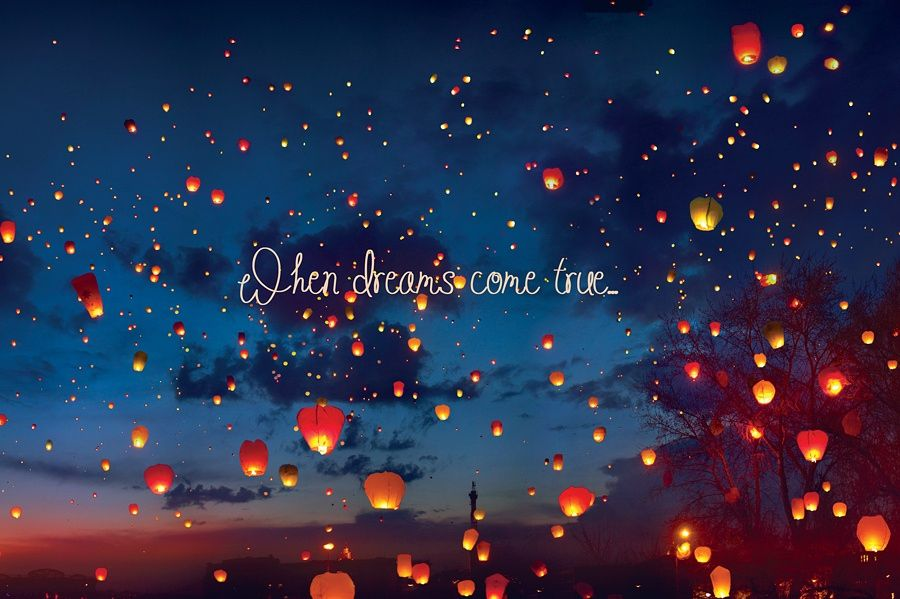 When dreams come true (letters edition) -