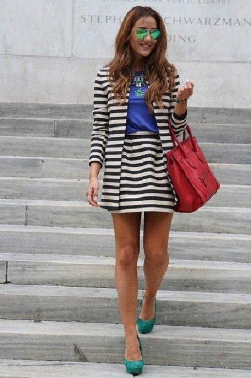 Oasis  Skirts, Oasis  Jackets and Zara  Shirt