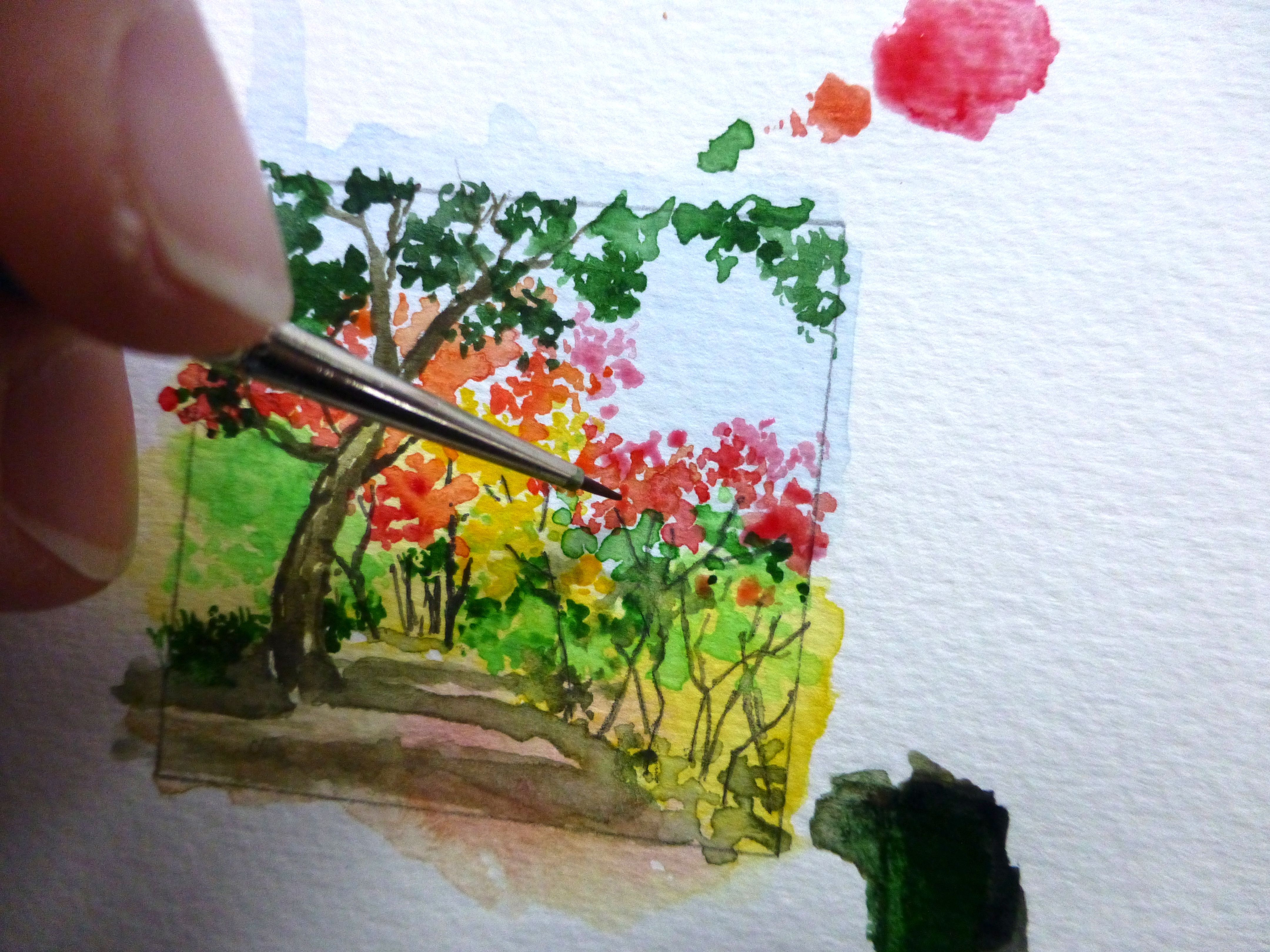 P1040736 Vivian Swift Aquarelle Et Peinture