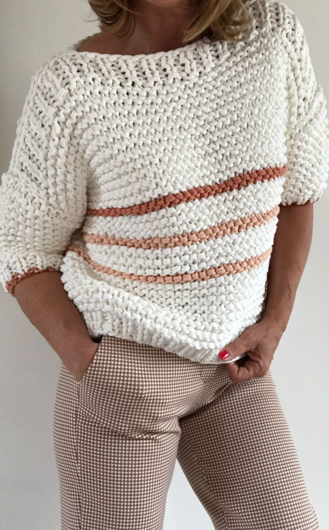 PureMe Made For You - SWEATER NATURAL