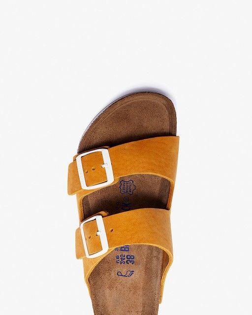 dd1d6fd5afb4 Birkenstock Arizona SFB Sport Sandal in mustard yellow