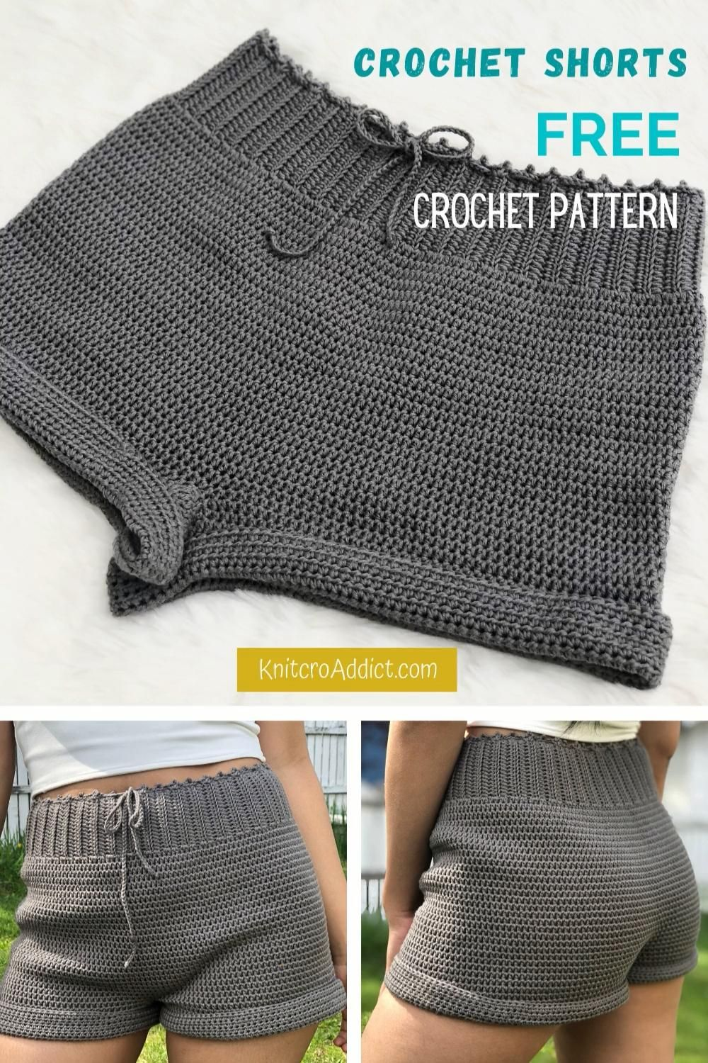 Photo of Easy Crochet Shorts Pattern and Video Tutorial