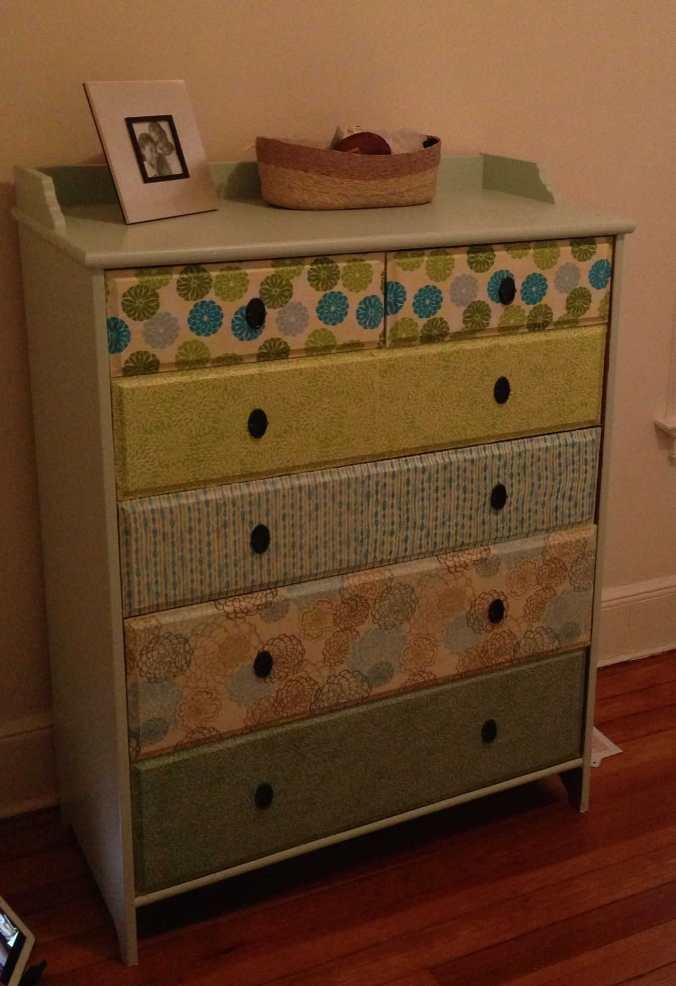 Decoupage Dresser For Baby S Room