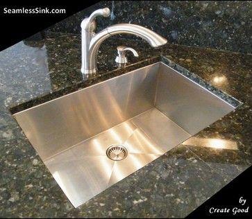 Zero Radius Undermount Kitchen Sinks Model Uc Ss 0ri S27