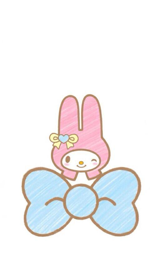 My Melody Wallpaper Sanrio Kawaii Hello Kitty Colorful