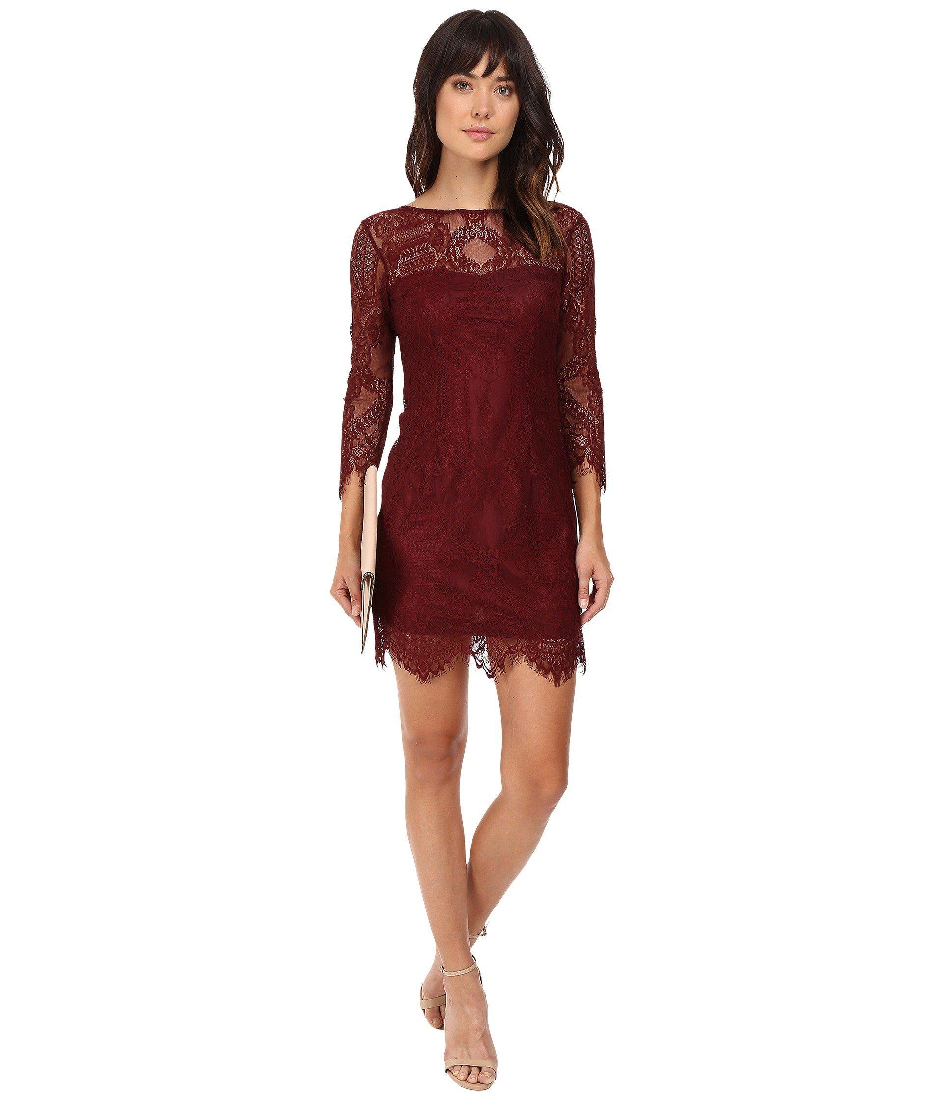 BB DAKOTA Everton V-Back Lace Dress. #bbdakota #cloth # | Bb Dakota ...