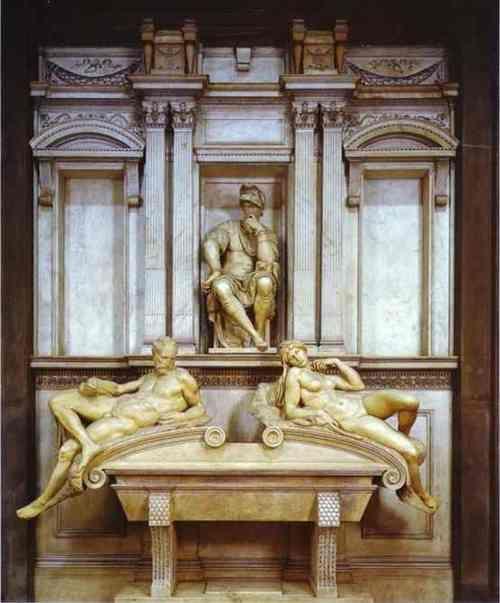 Tomb of Lorenzo de' Medici 1526  Michelangelo