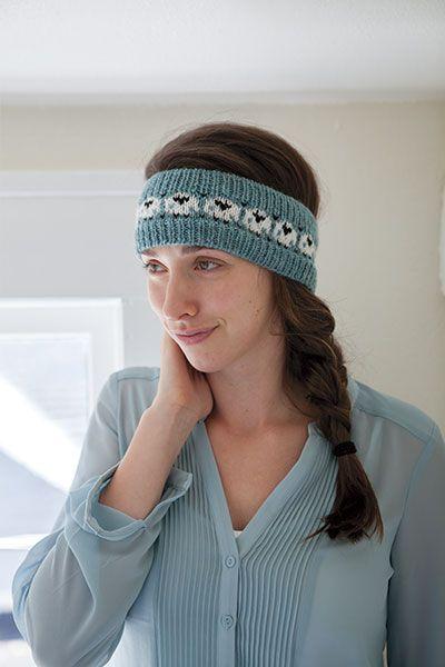 Happy Sheep Headband #knitting #knitpicks | Knitty things ...