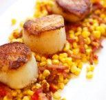 Summertime Corn Hash with Shellfish