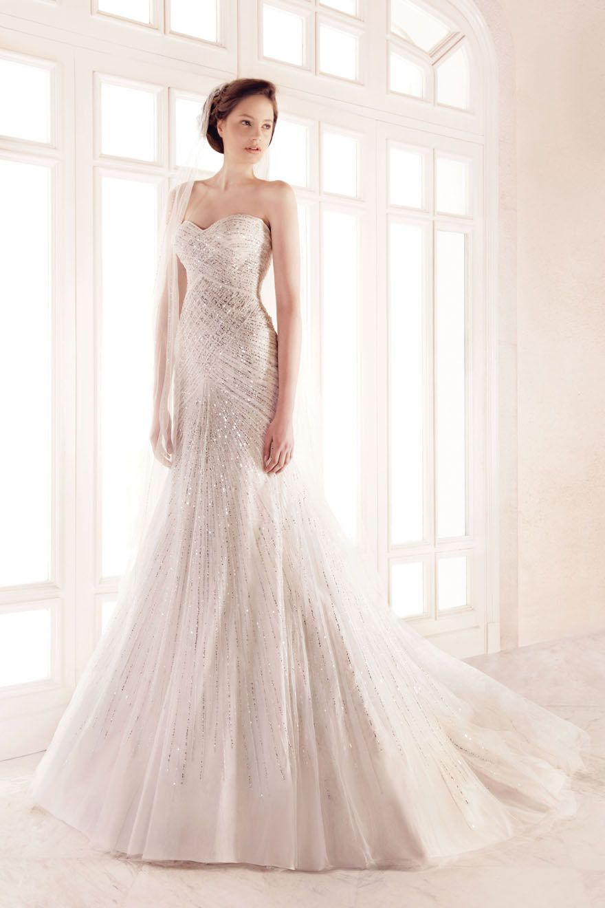 Love the sparkle. Georges Hobeika Bridal Gown 2011