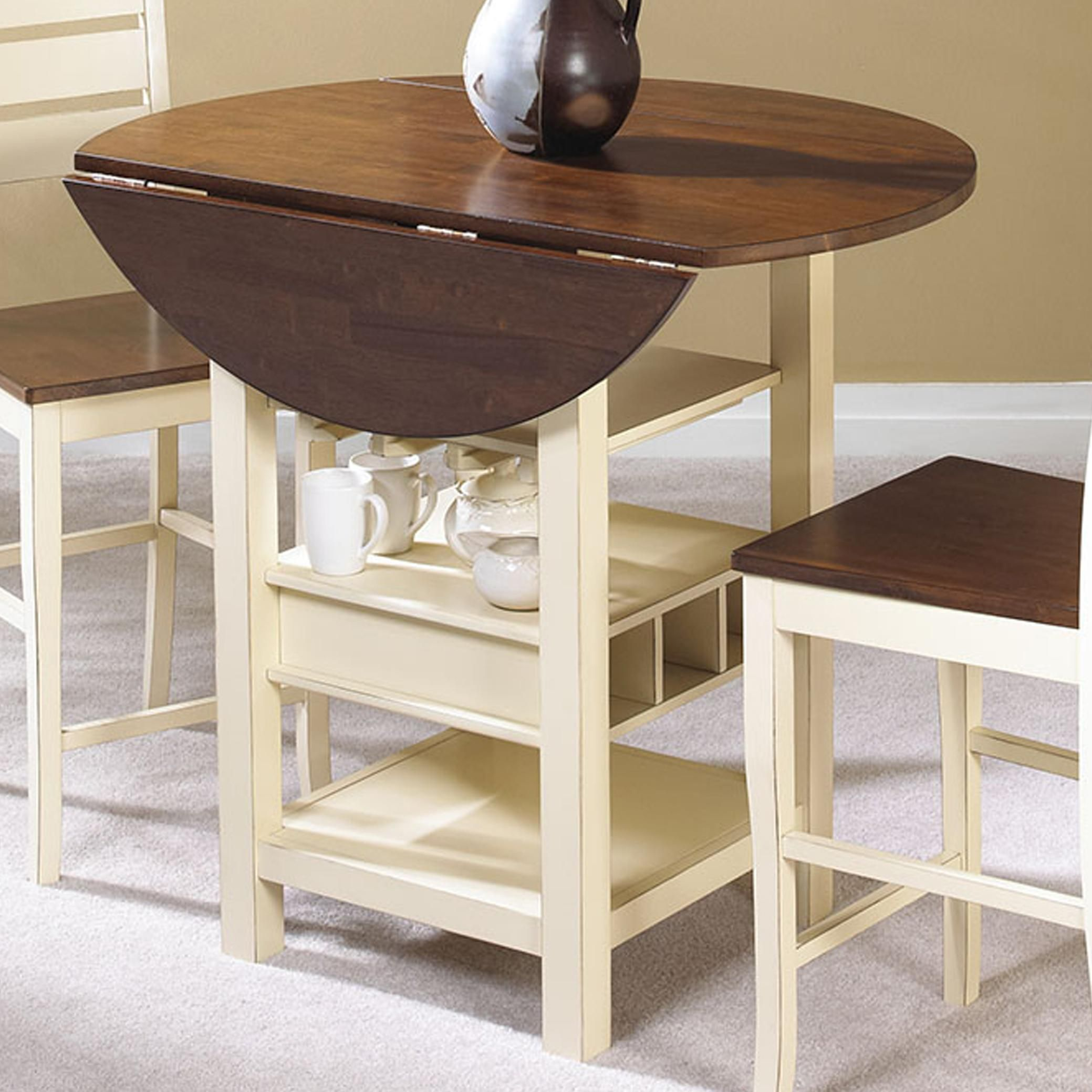 Cascade Drop Leaf Pub Table By Cramco Inc At Johnny Janosik Kitchen Table Settings Pub Table Sets Casual Dining Room Set