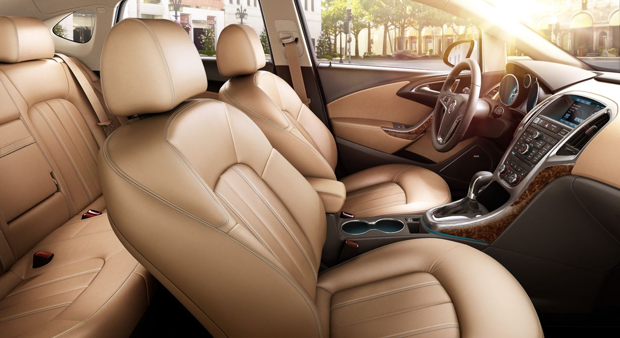 Buick Verano Interior Profile Featuring Choccachino Color Palette
