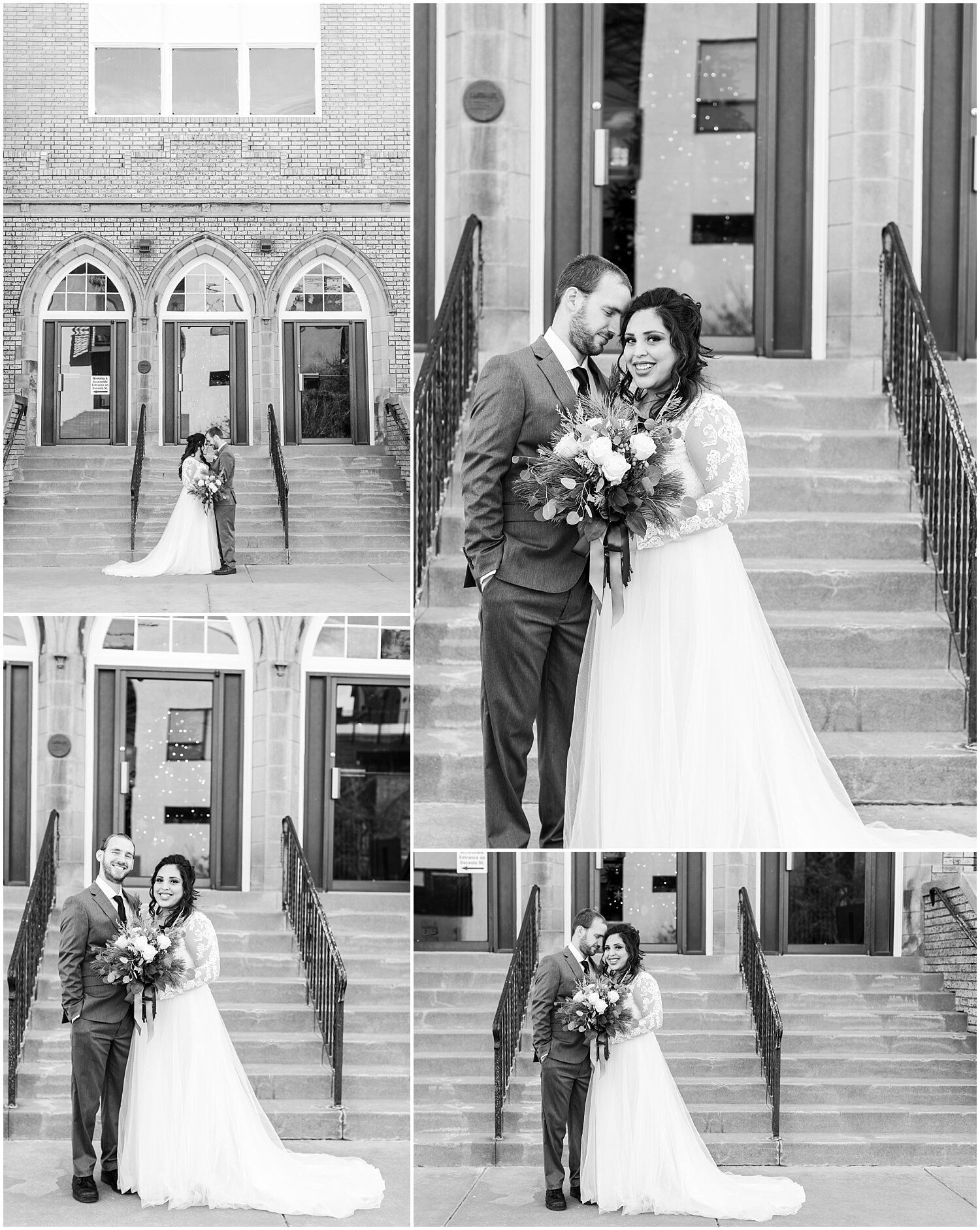 New Years Wedding at Historic Denver Church — Katie