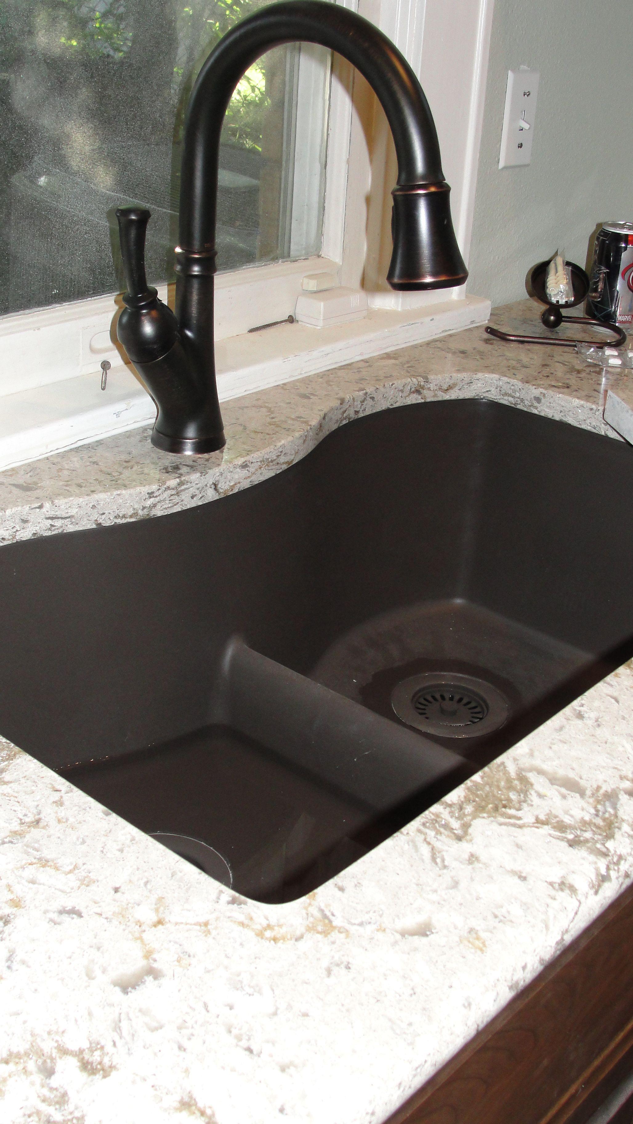 I 3 My Silicone Granite Sink Bronze Kitchen Faucet Granite