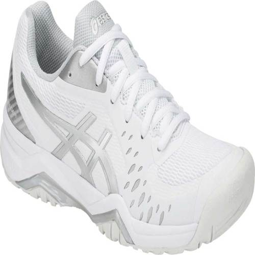 Women's ASICS GEL Challenger 12 Court Shoe WhiteSilver