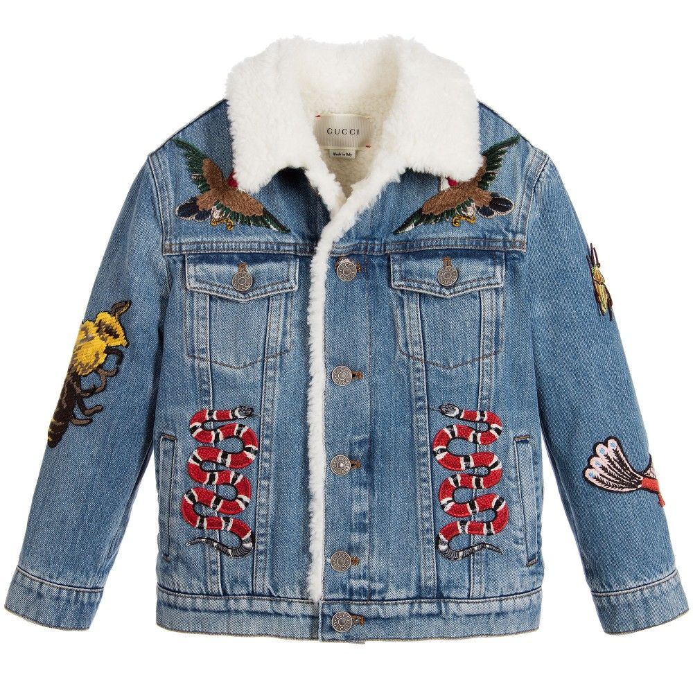 f9e371bc6efd Boys faded blue denim jacket
