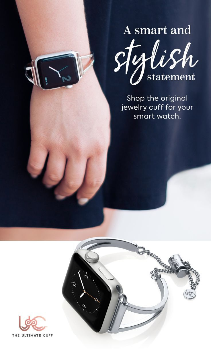 The ultimate Apple Watch accessory for the fashion maven