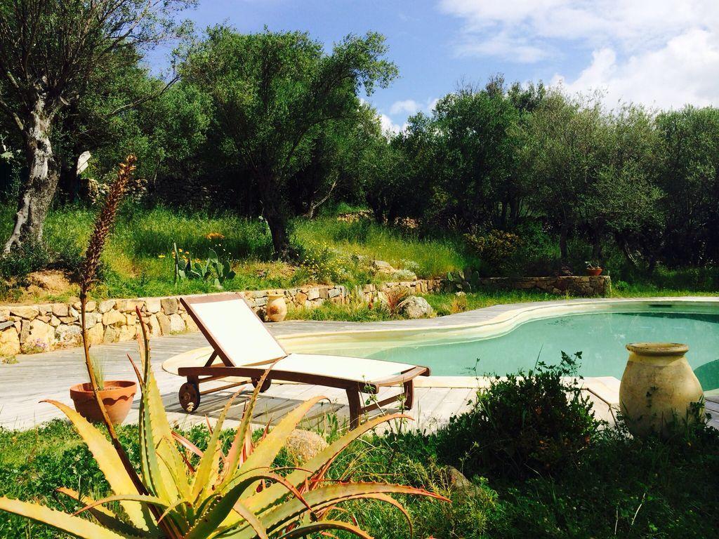 Abritel location calvi corse villa de charme avec grand - Location villa avec piscine en corse ...