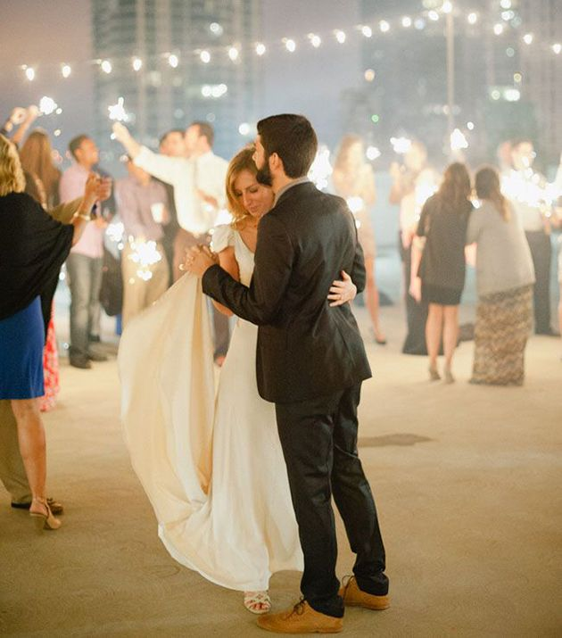 5 Creative Ways To Light Up Your Wedding With Sparklers First Dance