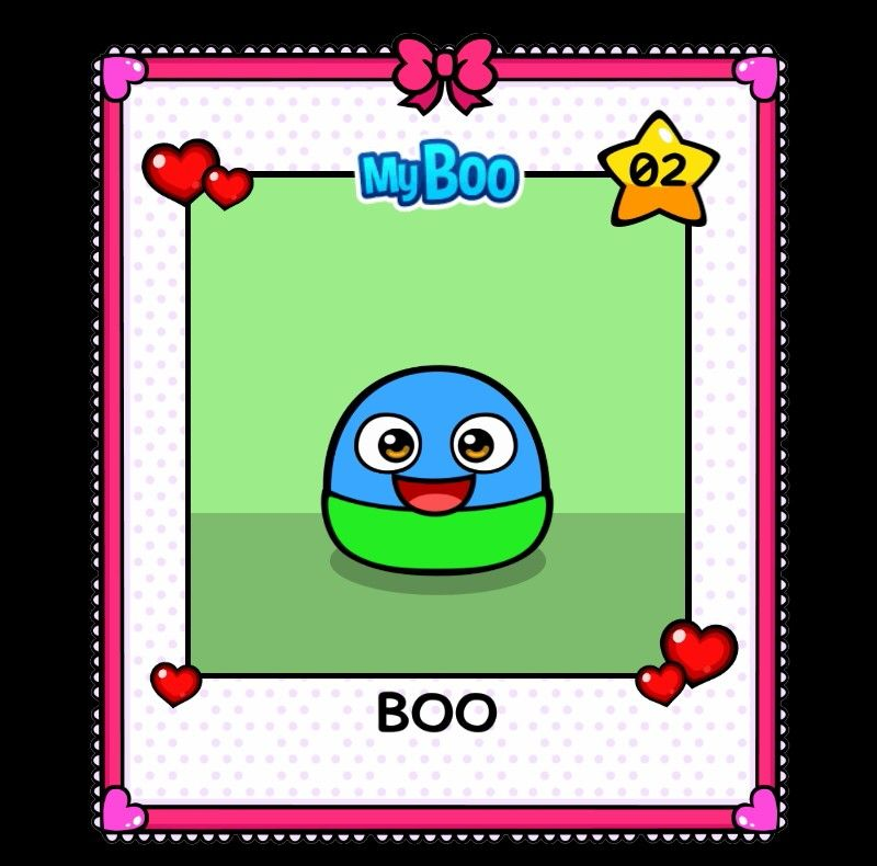 My boo from the my boo app My boo game Boo games