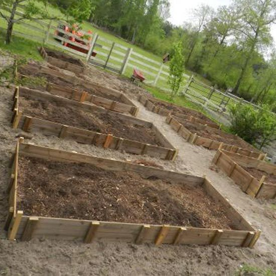 Raised Garden Beds   The Texas Pioneer Woman Blog   GRIT Magazine Http://