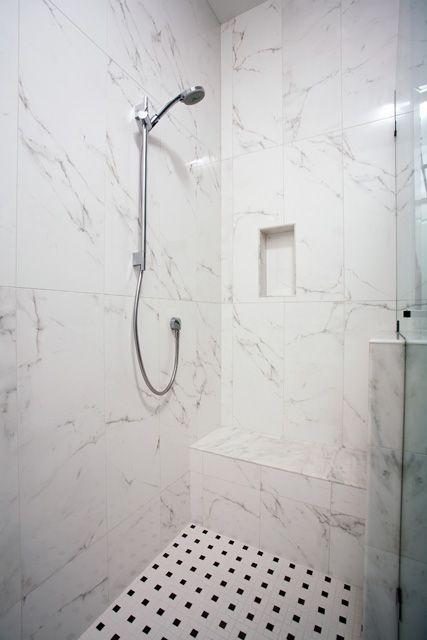 San Mateo CA Master Bathroom Walkin Shower Detail Valley Home - Bathroom remodel san mateo