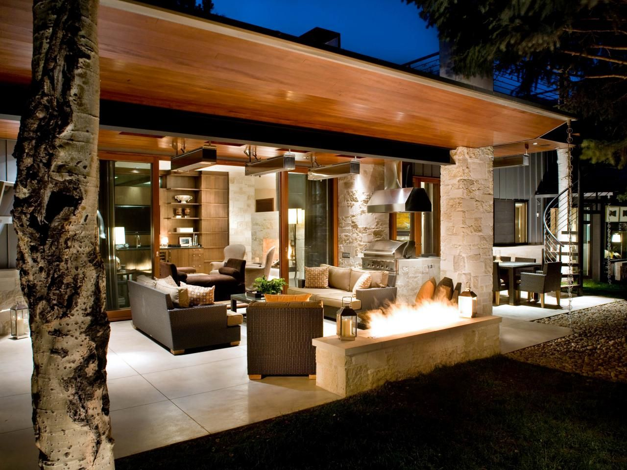 Outdoor Kitchen Lighting Ideas Pictures Tips Advice Outdoor Kitchen Lighting Outdoor Kitchen Ranch Style Home