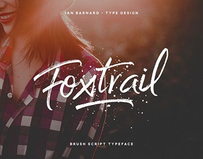 """Check out new work on my @Behance portfolio: """"Foxtrail - Typeface"""" http://be.net/gallery/47904367/Foxtrail-Typeface"""