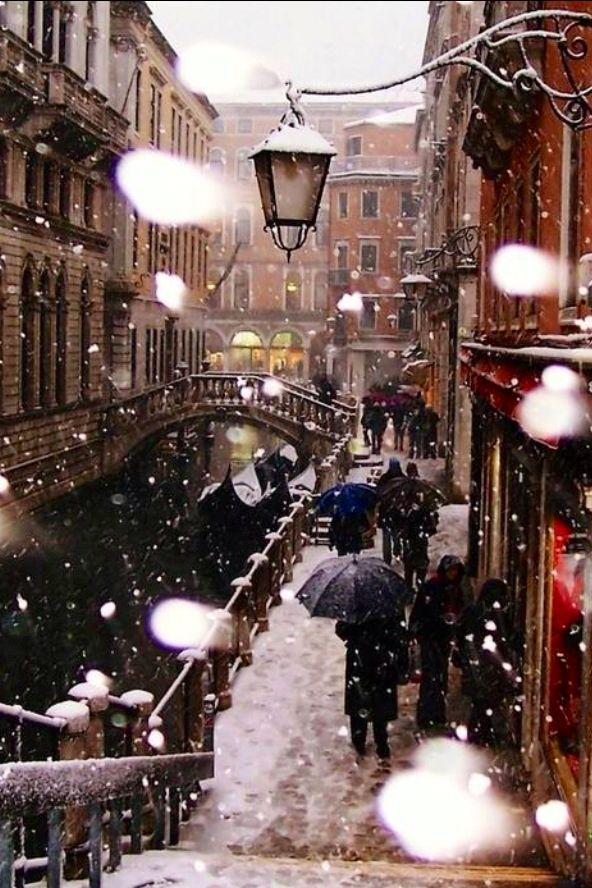 Venecia en invierno