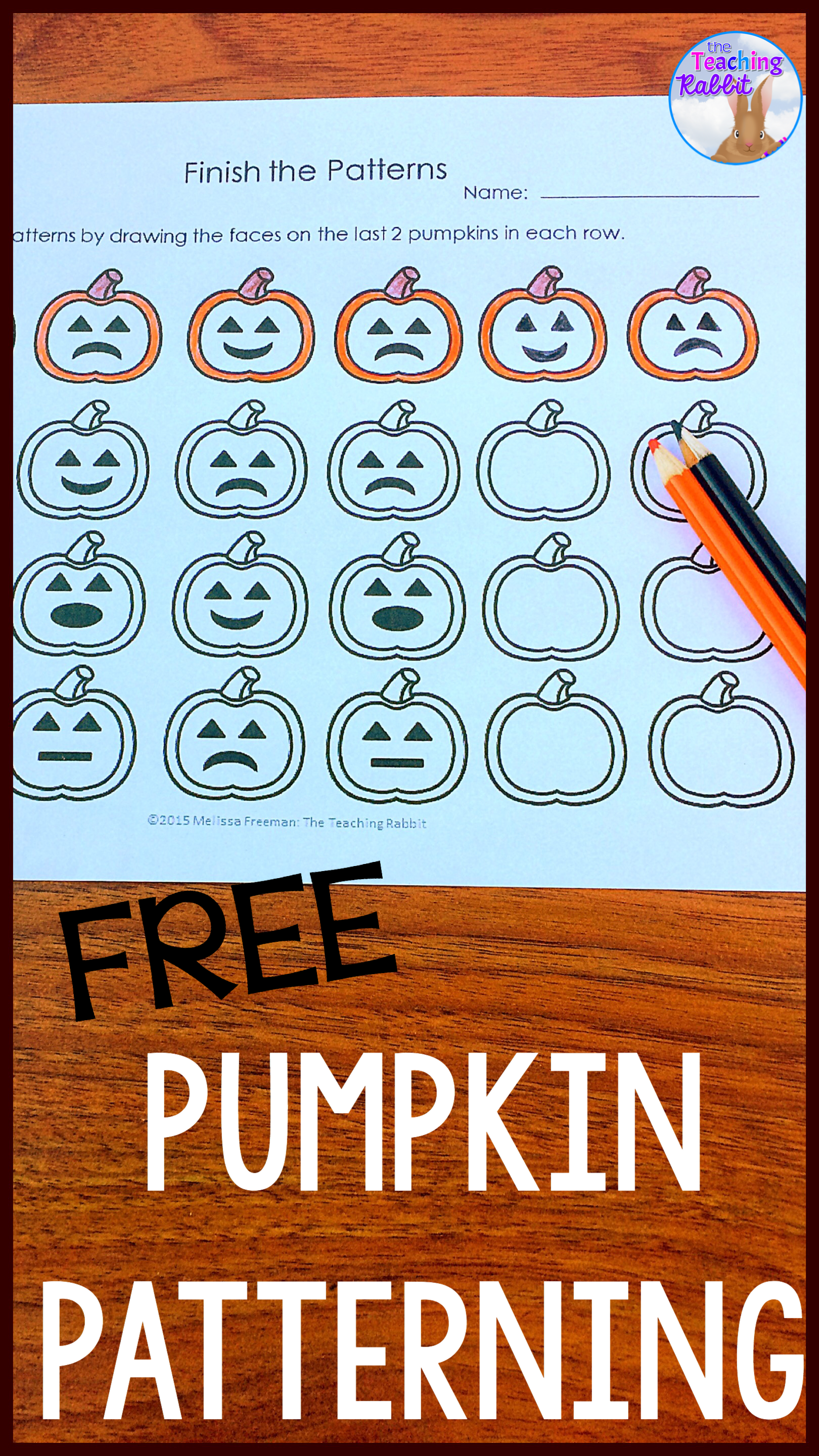 Develop patterning skills using these 3 fun worksheets with a ...